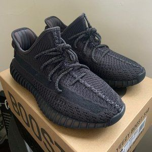 static black yeezy non reflective size 7.5
